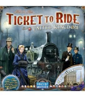 بلیط حرکت: انگلستان (Ticket to Ride United Kingdom)