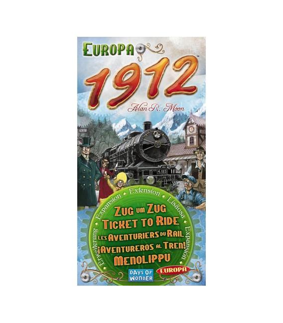 بلیت حرکت: اروپا 1912 (Ticket to Ride: Europa 1912)