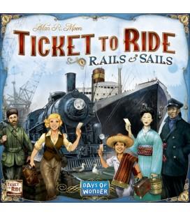 بلیت حرکت: قطار و قایق (Ticket to Ride: Rails & Sails)
