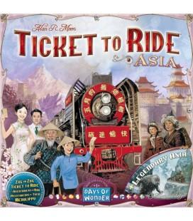بلیت حرکت: نسخه آسیا (Ticket to Ride: Team Asia)