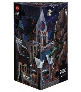 پازل 2000 تکه (Loup Castle of Horror)