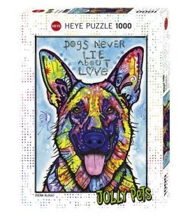 پازل 1000 تکه (Dogs Never Lie)